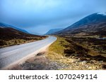 old military road a93. royal... | Shutterstock . vector #1070249114
