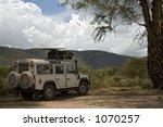 transportation 009 safari... | Shutterstock . vector #1070257