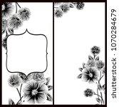 romantic invitation. wedding ... | Shutterstock .eps vector #1070284679