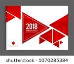 cover design for annual report... | Shutterstock .eps vector #1070285384