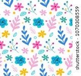 seamless pattern and background ... | Shutterstock .eps vector #1070308559