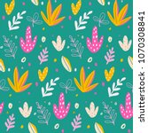 seamless pattern and background ... | Shutterstock .eps vector #1070308841