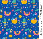 seamless pattern and background ... | Shutterstock .eps vector #1070309621