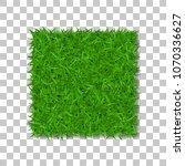grass square 3d. beautiful... | Shutterstock .eps vector #1070336627