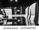 modern office interior meeting...   Shutterstock . vector #1070345594