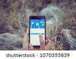 bangkok  thailand   april 17 ... | Shutterstock . vector #1070355839