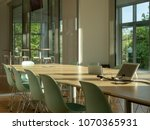 modern office meeting room.... | Shutterstock . vector #1070365931
