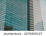 close up of a skyscraper | Shutterstock . vector #1070403137