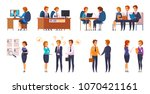 recruitment hiring hunting hr... | Shutterstock .eps vector #1070421161
