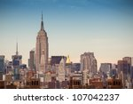 new york   march 6   empire... | Shutterstock . vector #107042237