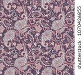paisley seamless vector pattern....   Shutterstock .eps vector #1070426855