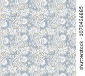 paisley seamless vector pattern....   Shutterstock .eps vector #1070426885