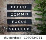 motivational and inspirational... | Shutterstock . vector #1070434781
