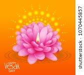 vector illustration of a banner ... | Shutterstock .eps vector #1070445857