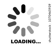 progress loading icon ... | Shutterstock .eps vector #1070465939