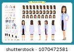 scientist character creation... | Shutterstock .eps vector #1070472581