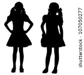 Silhouettes Of Kids