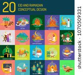 Eid And Ramadan Conceptual...