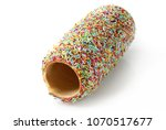 traditional hungarian puff with ... | Shutterstock . vector #1070517677