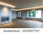 large living room in modern... | Shutterstock . vector #1070527727