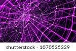 3d render abstract background.... | Shutterstock . vector #1070535329