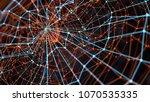 3d render abstract background.... | Shutterstock . vector #1070535335