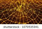 3d render abstract background.... | Shutterstock . vector #1070535341