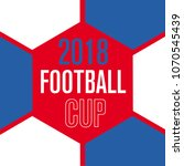 football world championship cup ... | Shutterstock .eps vector #1070545439