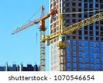 Crane And Building Under...