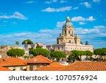 Historic church in city center of Messina,  Sicily, Italy