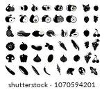 black and white illustration....   Shutterstock .eps vector #1070594201