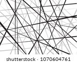random chaotic lines abstract... | Shutterstock .eps vector #1070604761