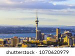 view to auckland new zealand... | Shutterstock . vector #1070620979