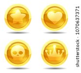 set game coin with star  heart  ...
