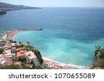 beautiful amalfi coast | Shutterstock . vector #1070655089