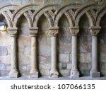 Gothic Arches In Limestone