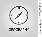 geography icon. geography... | Shutterstock .eps vector #1070665115