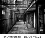 maximum security prison  detail ... | Shutterstock . vector #1070674121