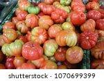 very fresh tomatoes | Shutterstock . vector #1070699399