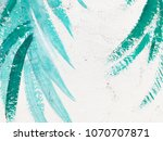 artists oil paints multicolored ... | Shutterstock . vector #1070707871