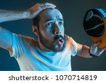 sports  fan human emotions and...   Shutterstock . vector #1070714819