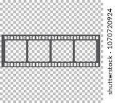 blank film frame stock... | Shutterstock .eps vector #1070720924