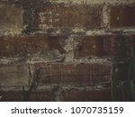 old brick well 5 | Shutterstock . vector #1070735159