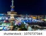 thessaloniki  greece   sept 17  ...   Shutterstock . vector #1070737364