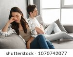 photo of disappointed couple... | Shutterstock . vector #1070742077