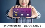 customer experience concept.... | Shutterstock . vector #1070752871