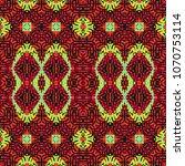 color engraving pattern.... | Shutterstock .eps vector #1070753114