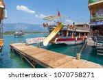 turkey   august 16  2017  pier...   Shutterstock . vector #1070758271