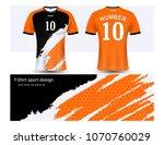 soccer jersey and t shirt sport ... | Shutterstock .eps vector #1070760029
