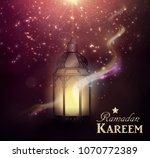 ramadan kareem greetings   Shutterstock .eps vector #1070772389